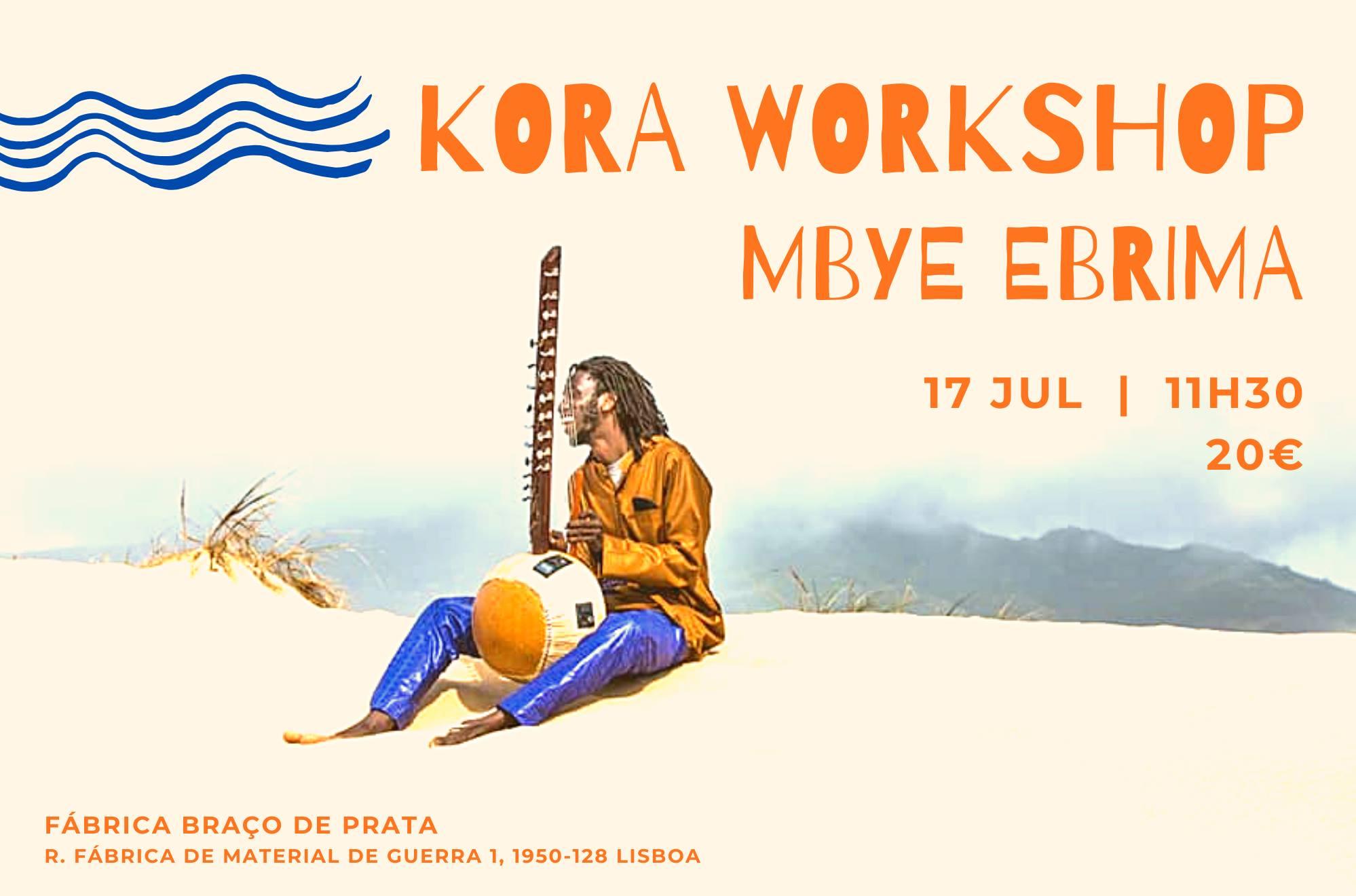 Workshop de Kora   Mbye Ebrima