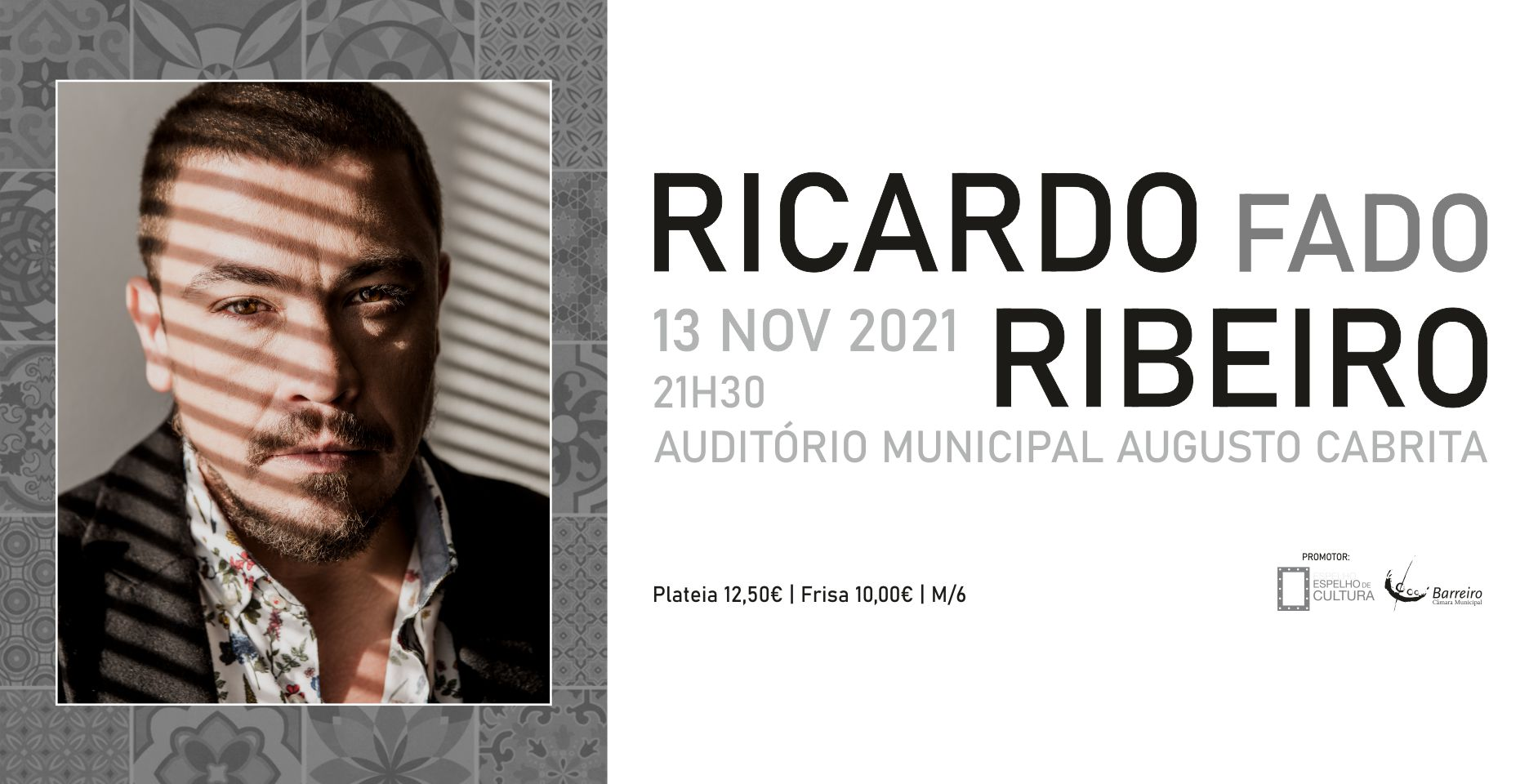 Concerto | Ricardo Ribeiro | Fado | 21h30