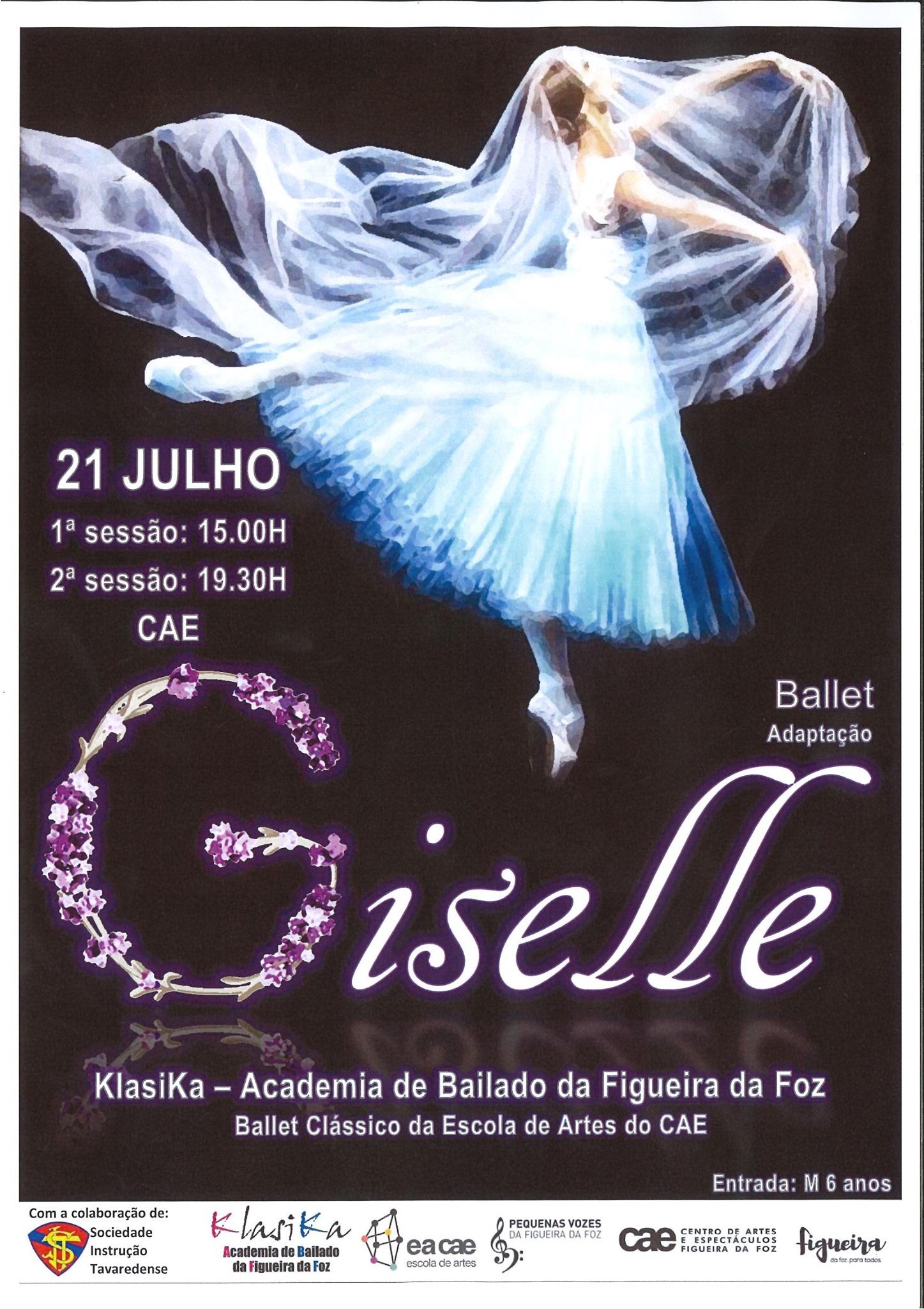 Giselle, pela Klasika - Academia de Bailado da Figueira da Foz   EACAE