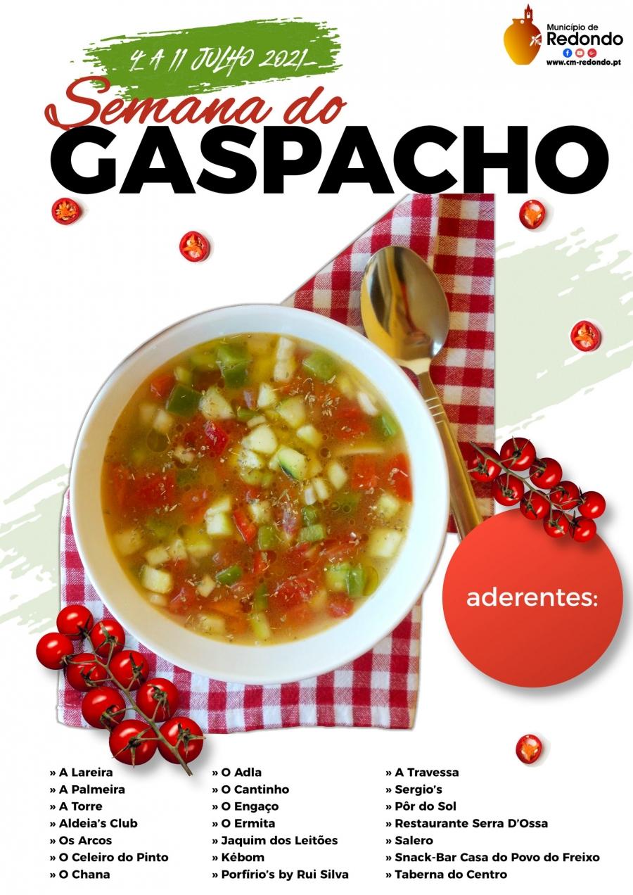 Semana do Gaspacho   04 a 11 de julho   Concelho de Redondo