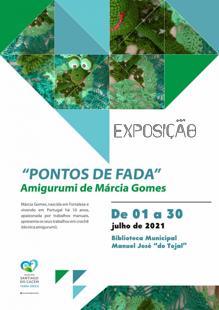 """Exposição """"Pontos de Fada""""  de Márcia Gomes"""