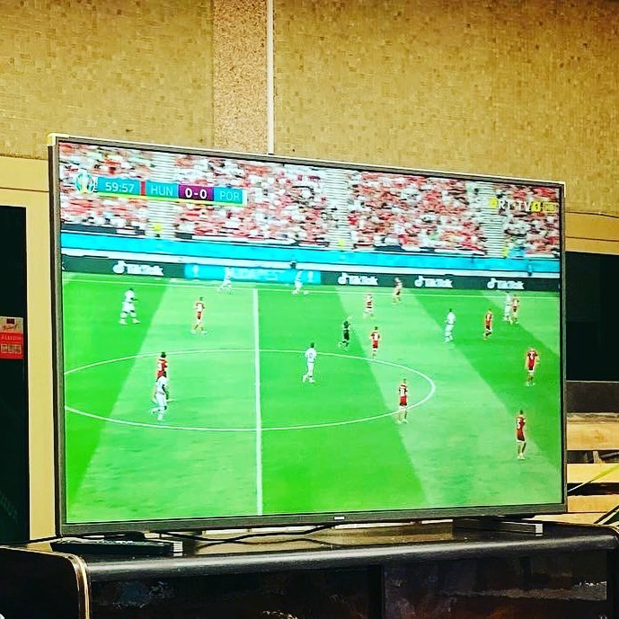 All FOOTBALL Games at Embaixada on BIG Screen
