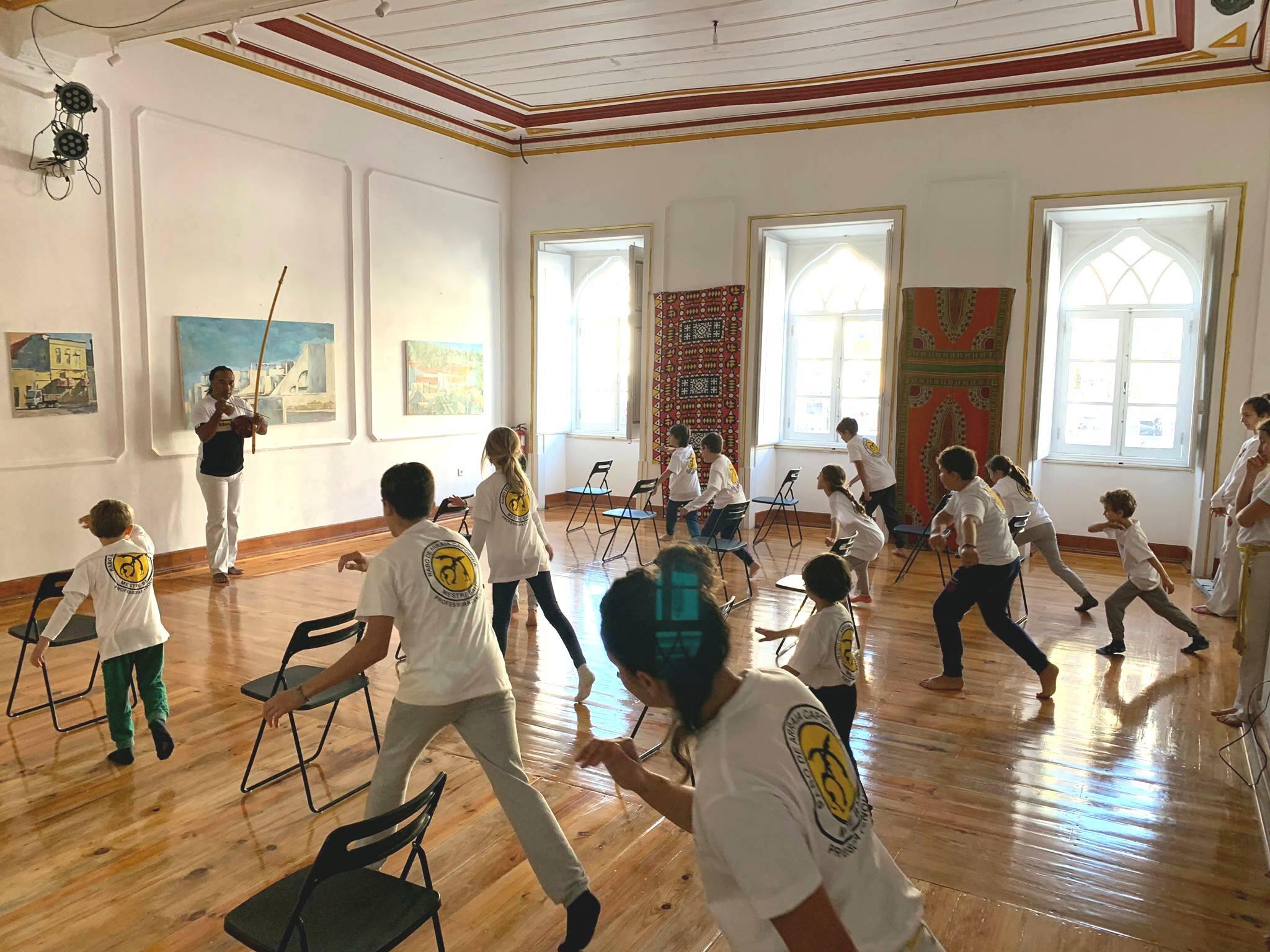 Capoeira com Rita Vilhena