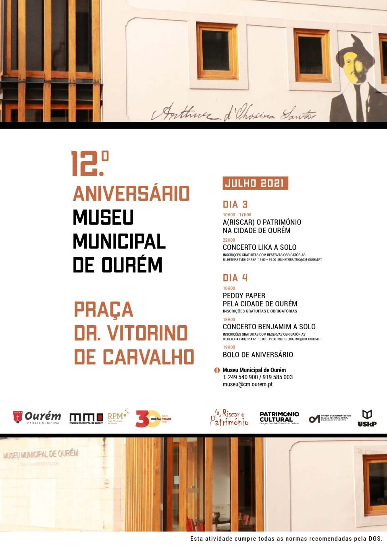 12º ANIVERSÁRIO DO MUSEU MUNICIPAL DE OURÉM   PEDDY PAPER PELA CIDADE…