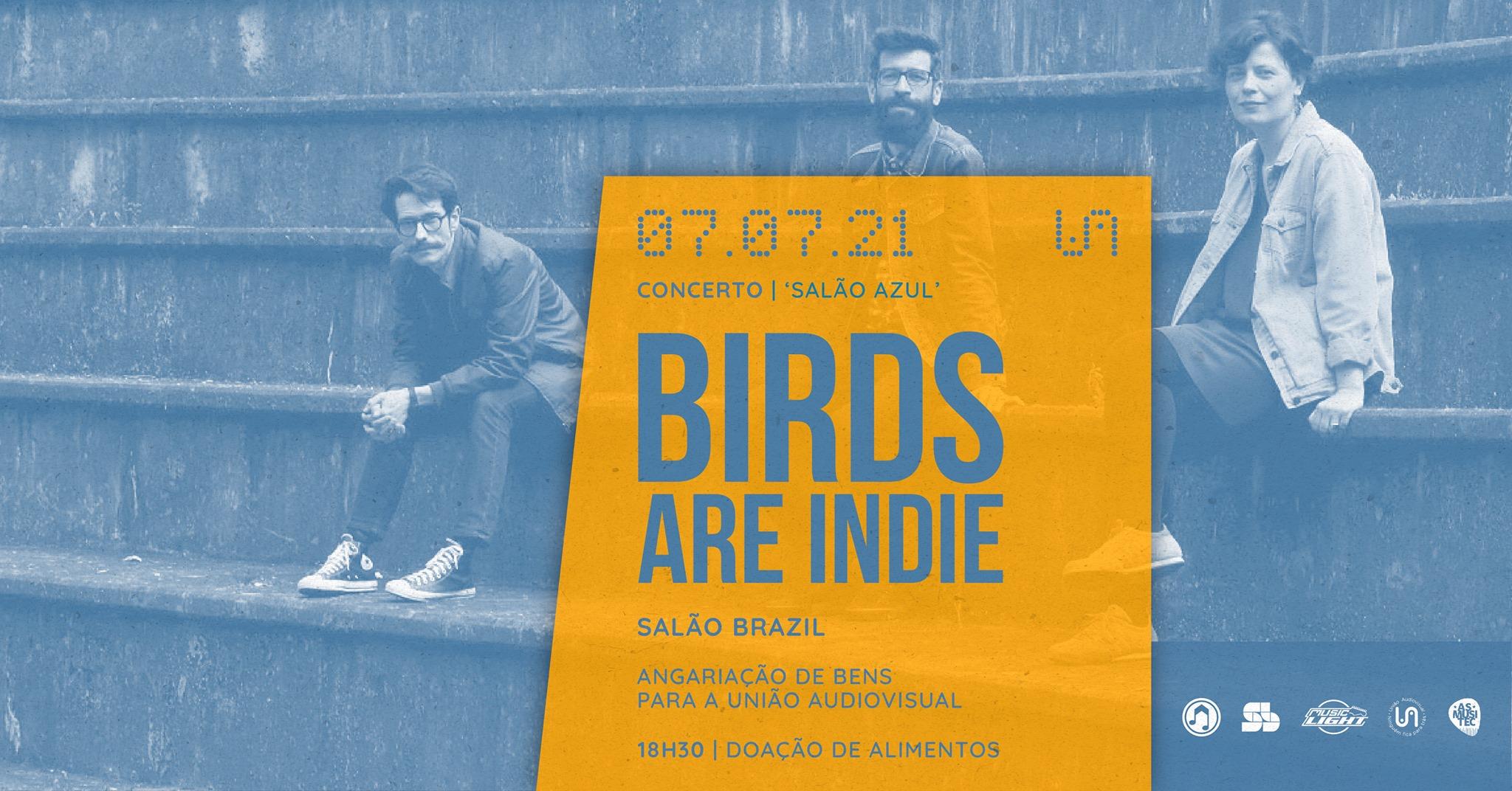 Salão Azul ~ Birds Are Indie