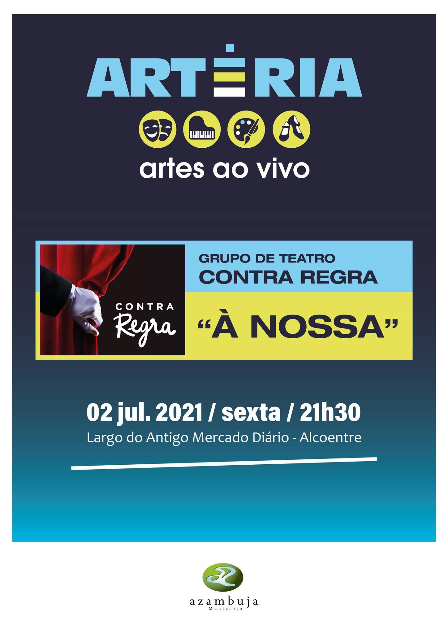 """Teatro """"À nossa…"""", com Contra-Regra Teatro"""