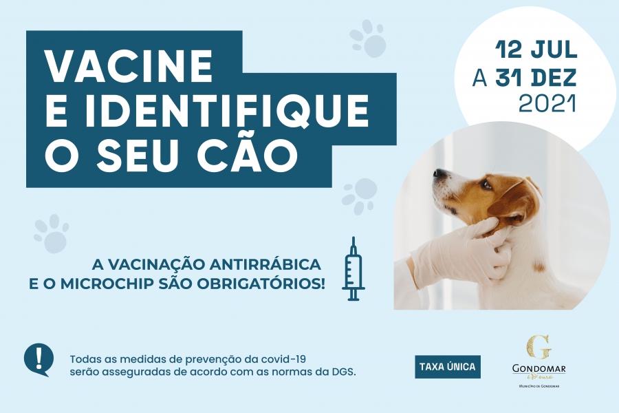 Vacine e Identifique o Seu Cão