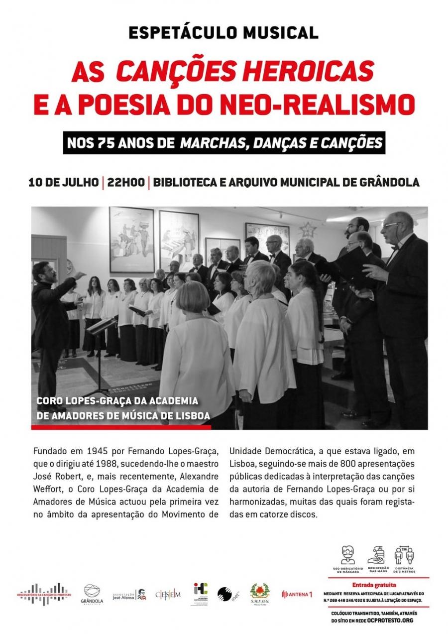 Espetáculo musical | Coro Lopes-Graça da academia de Amadores de Música de Lisboa