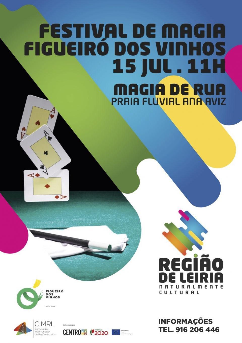 Festival De Magia De Rua - Praia Fluvial Ana De Aviz