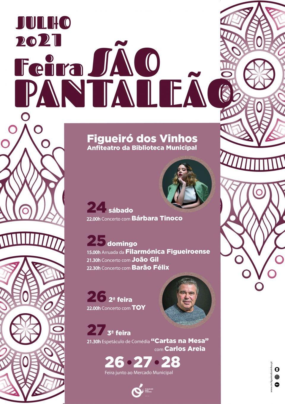Feira de São Pantaleão Com Música e Teatro