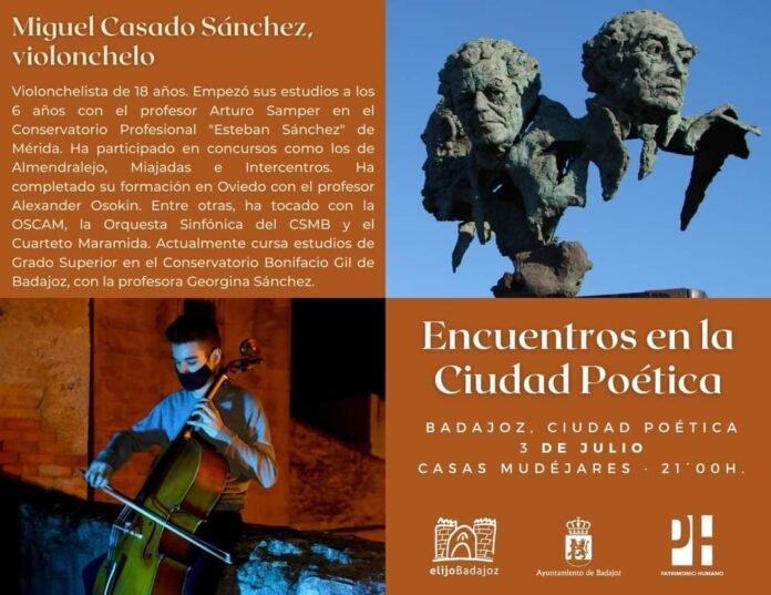 """Veladas literarias en las Casas Mudéjares. """"Encuentros en la ciudad poética"""""""