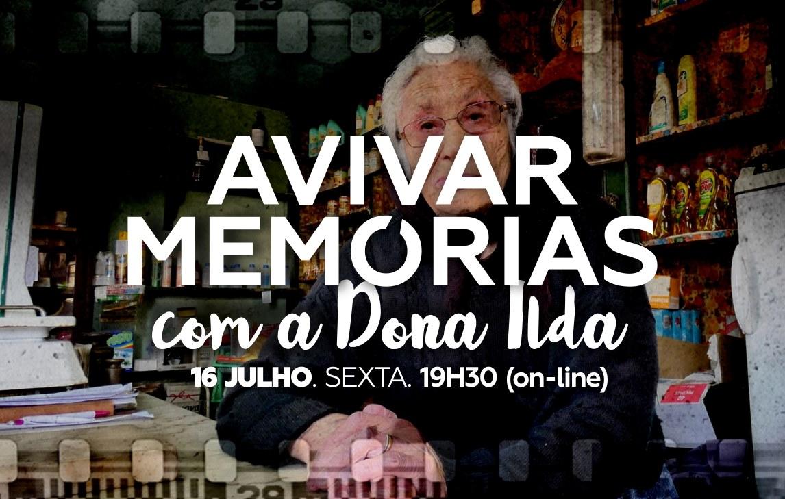 'Avivar Memórias', com Dona Ilda Ferreira