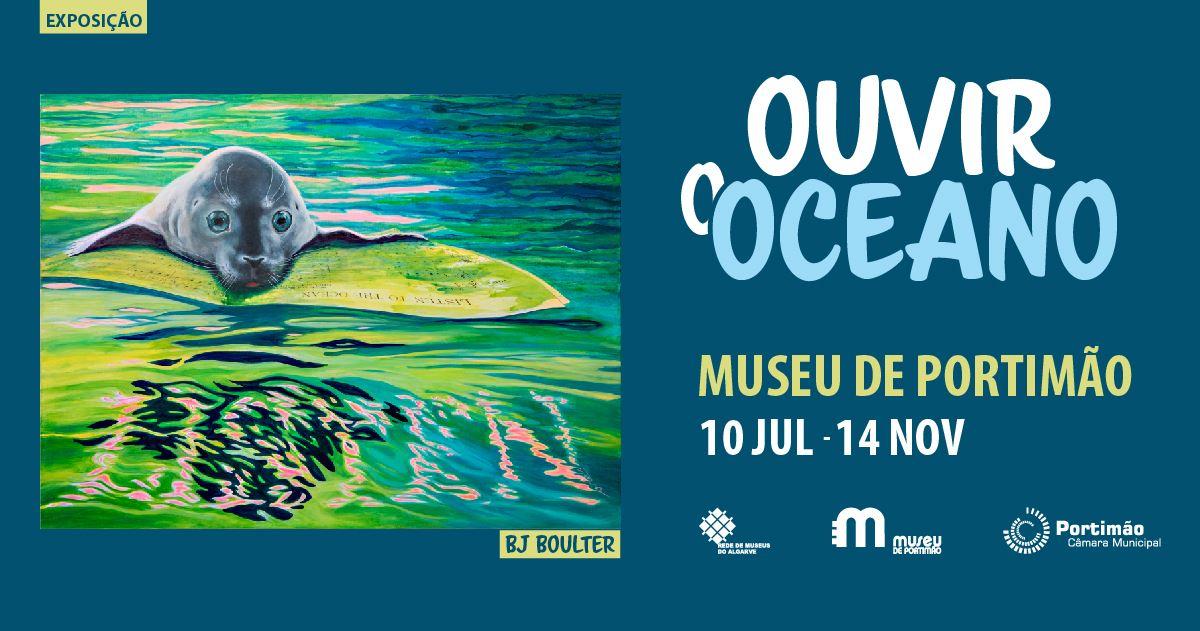 Exposição 'Ouvir o Oceano' de BJ Boulter
