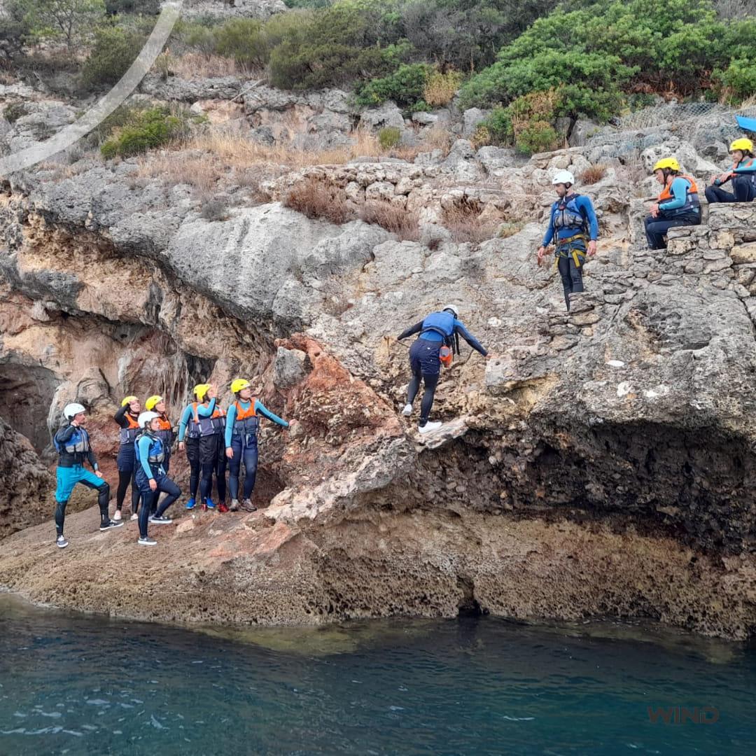 Coasteering na Árrabida