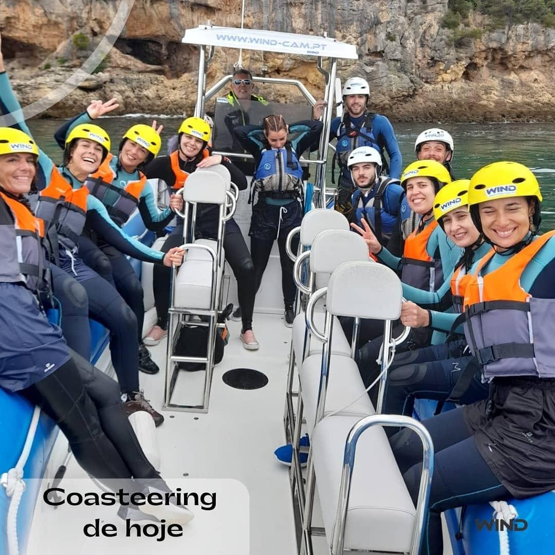 Coasteering sesimbra