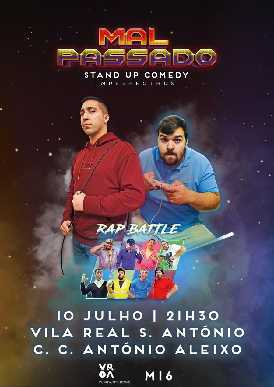 «Mal Passado»- Stand Up Comedy com  Imperfecthus ao vivo