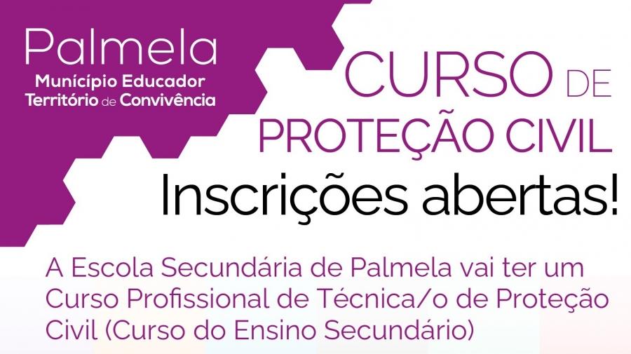 CURSO PROFISSIONAL DE TÉCNICO DE PROTEÇÃO CIVIL - INSCRIÇÕES ABERTAS!