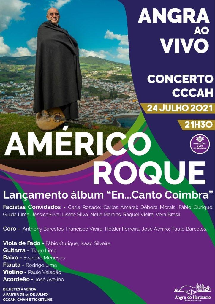 Angra ao Vivo – Américo Roque