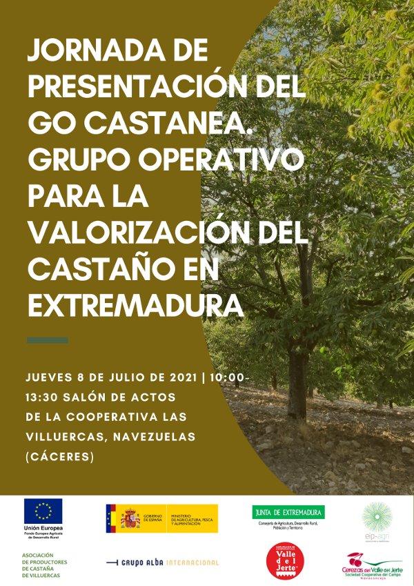 Jornada de presentación Grupo Operativo GO Castanea. Navezuelas (Cáceres). 8 de julio de 2021