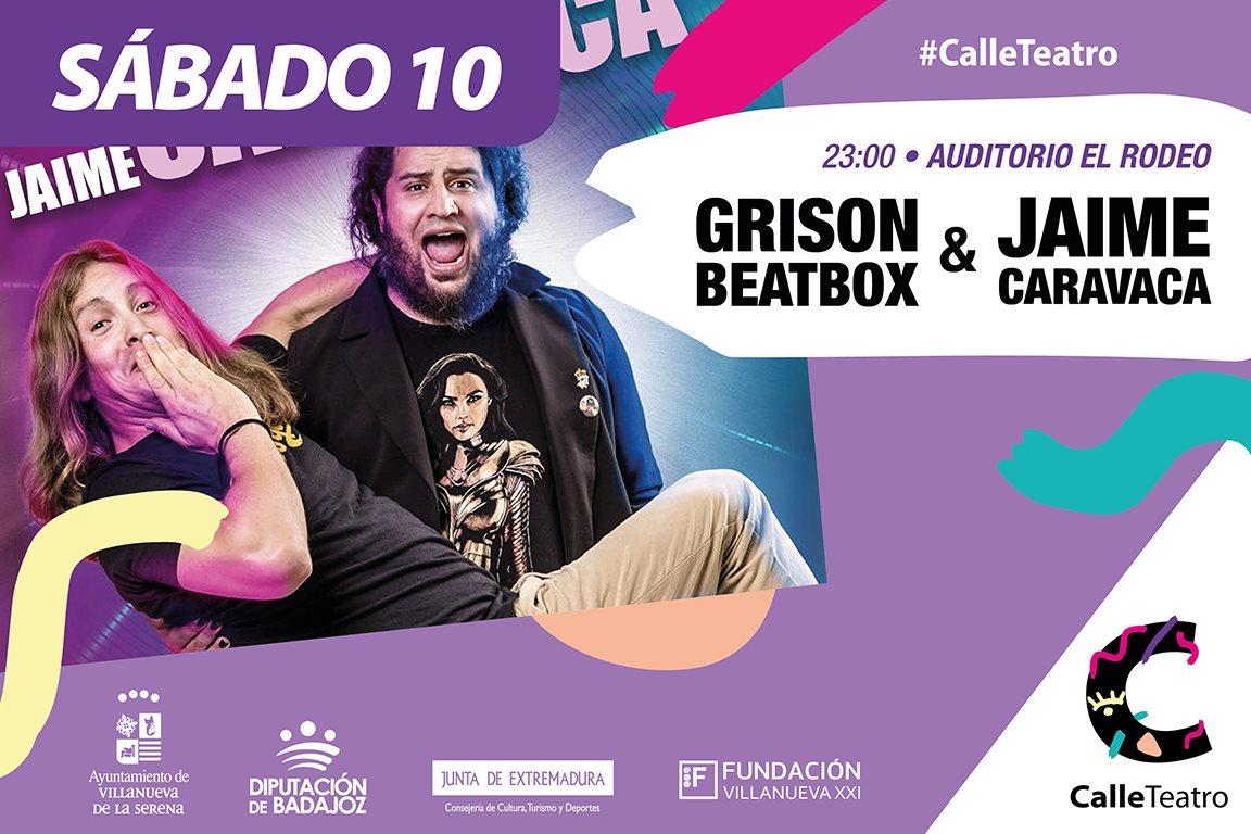 Espectáculo 'Grison Beatbox y Jaime Caravacas'