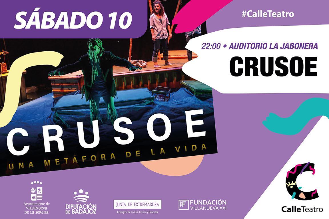Espectáculo 'Crusoe' Cía. Markeliñe #CalleTeatro