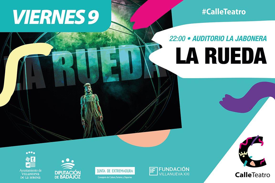 Espectáculo 'La Rueda' Cía. Chisgarabís #CalleTeatro