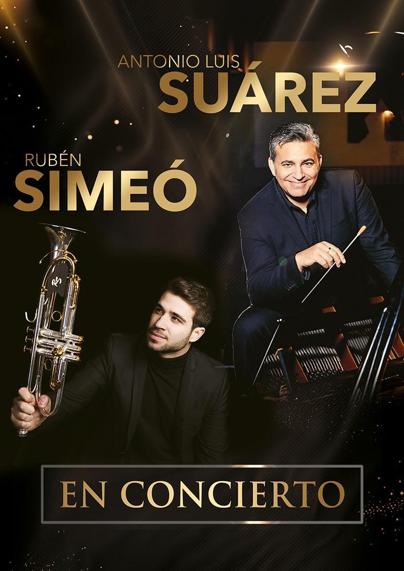 Rubén Simeó y Antonio Luis Suárez en concierto