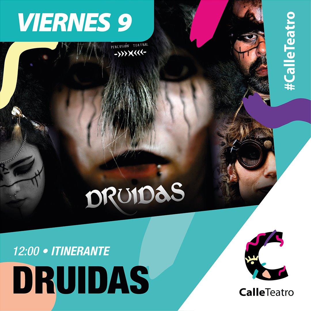 Espectáculo 'Druidas' Cía. Tupá #CalleTeatro