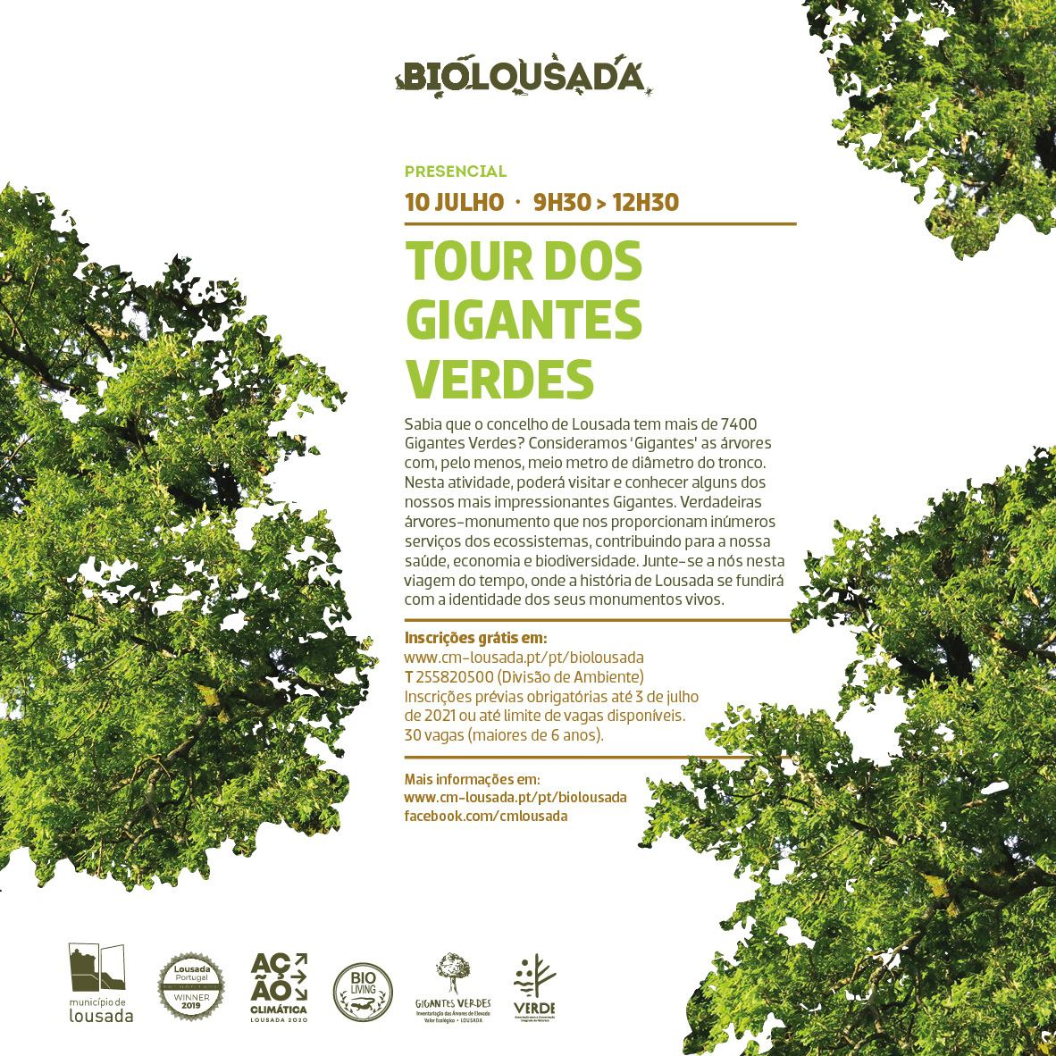 BioLousada - Tour dos Gigantes Verdes
