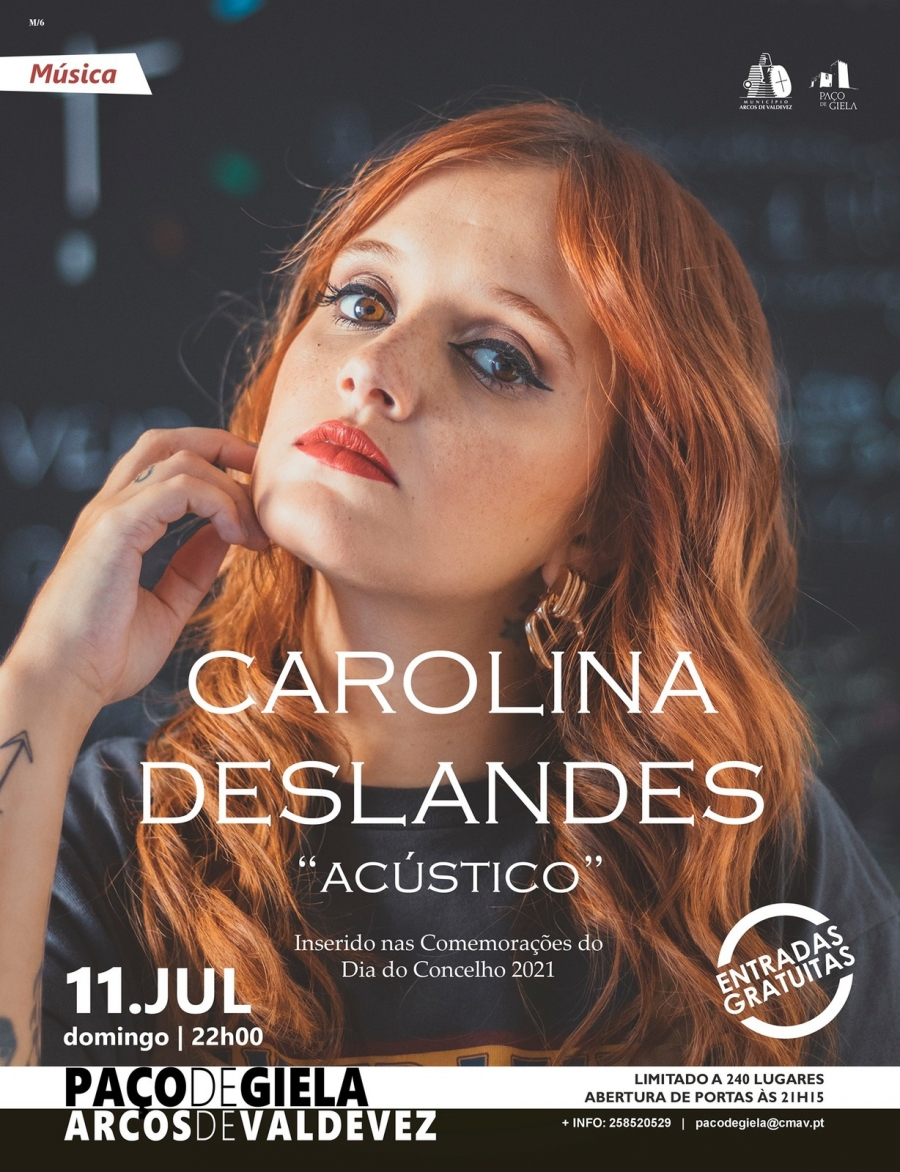 Carolina Deslandes no Paço de Giela