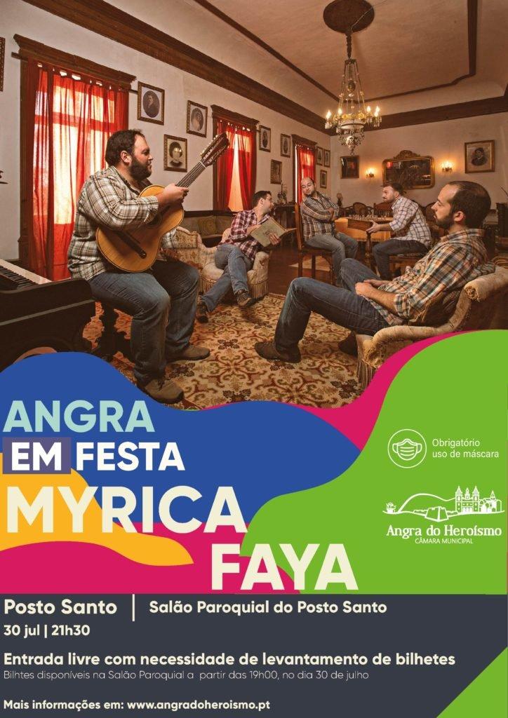 Angra em Festa – Myrica Faya