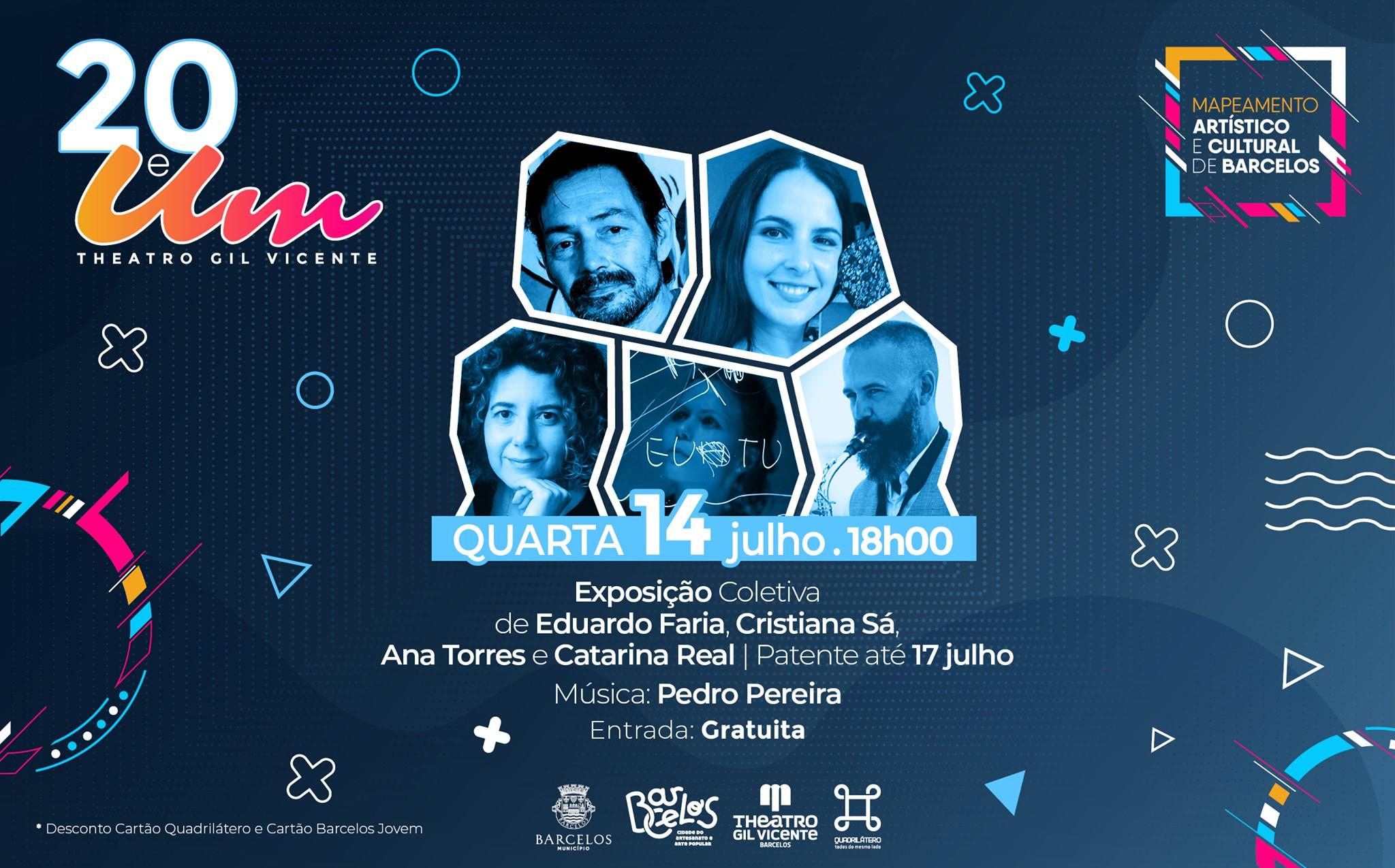 Festival 20 e Um - Exposição 'As Artes' com música de Pedro Pereira