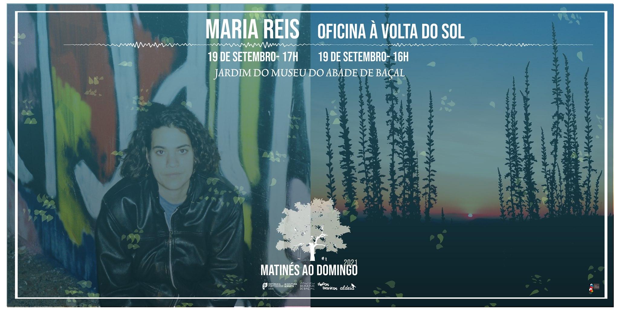 Matinés ao Domingo com Maria Reis + Oficina À Volta do Sol