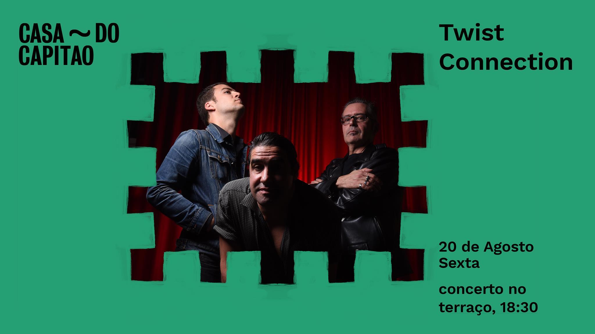 The Twist Connection • concerto no terraço