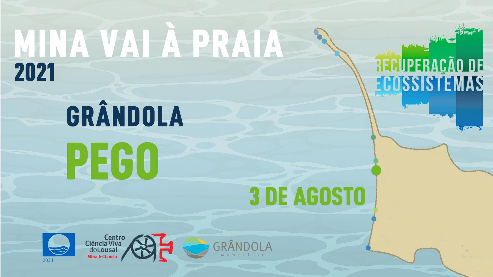 Mina vai à Praia - Pego