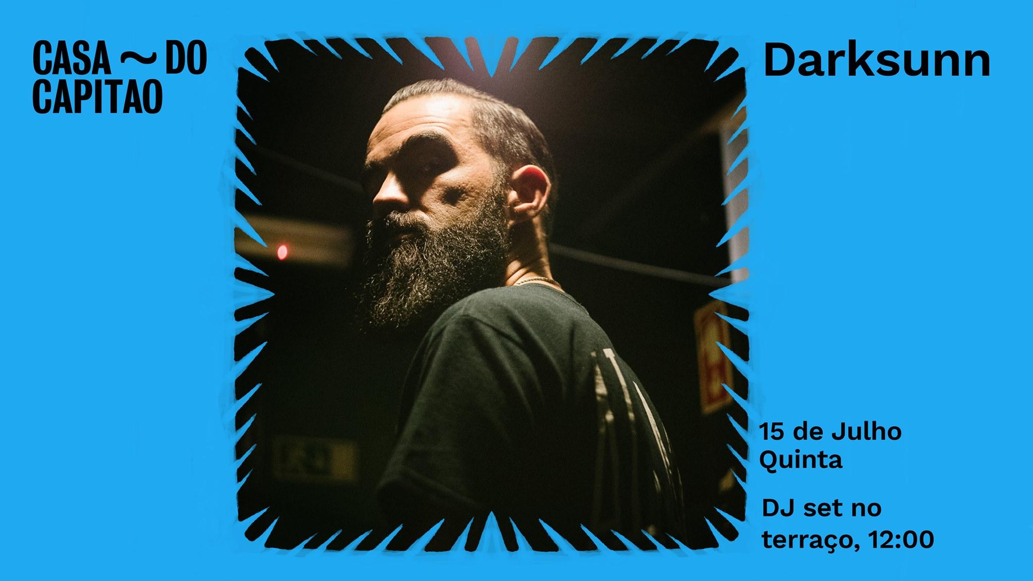 DarkSunn • DJ set no terraço