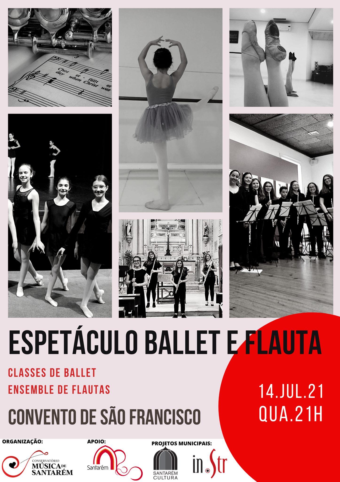 Ballet e Flautas Transversais   Conservatório de Música de Santarém - In.Str 2021