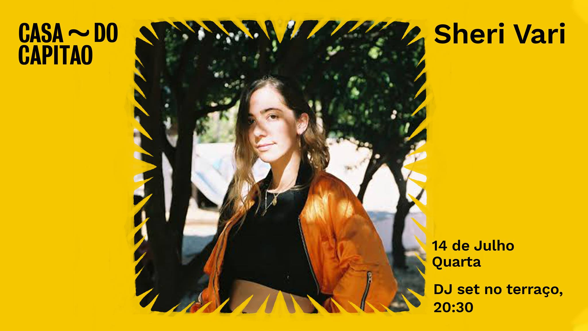 Sheri Vari • DJ set no terraço