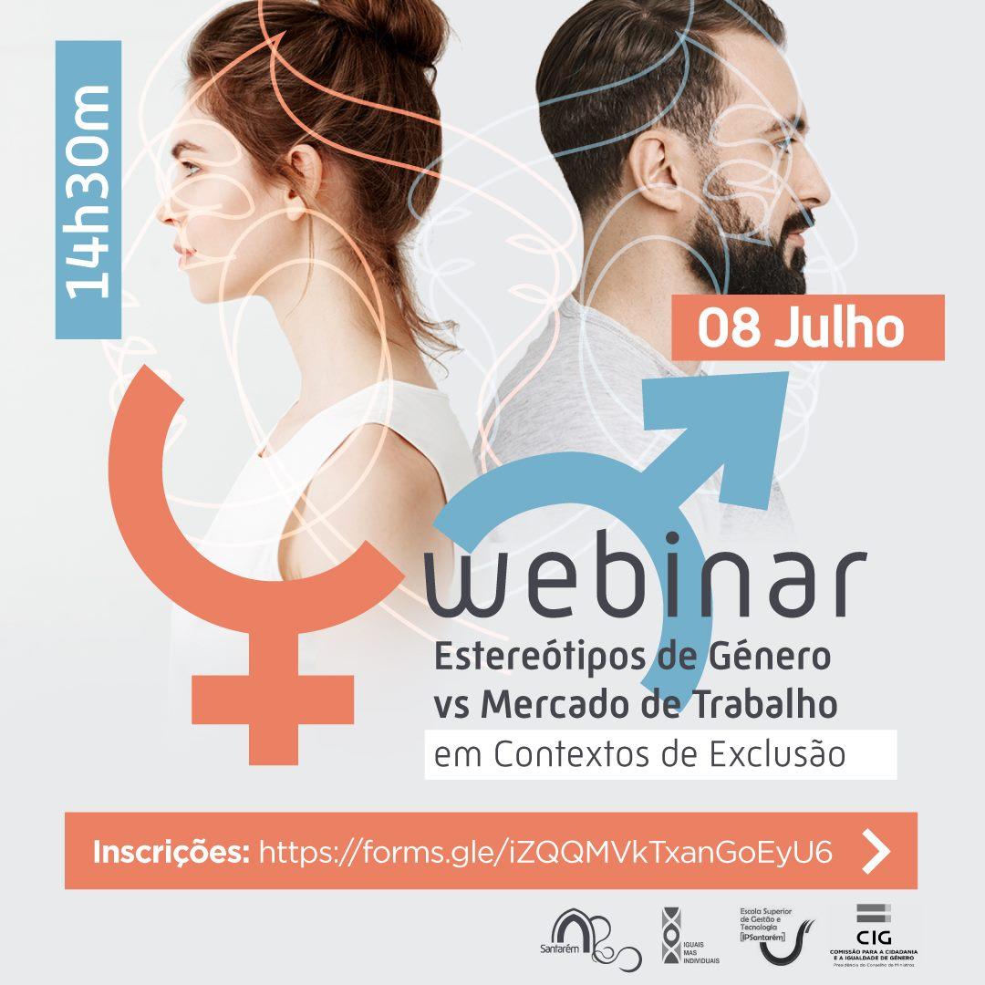"""Webinar """"Estereótipos de Género vs Mercado de Trabalho"""""""