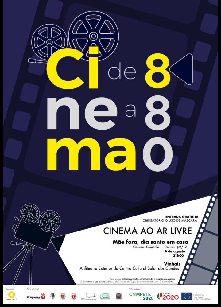 Cinema ao Ar Livre 'Mãe fora, dia santo em casa'