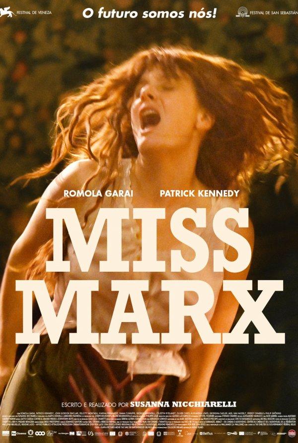 Cinema no Jardim | MISS MARX, um filme de Susanna Nicchiarelli