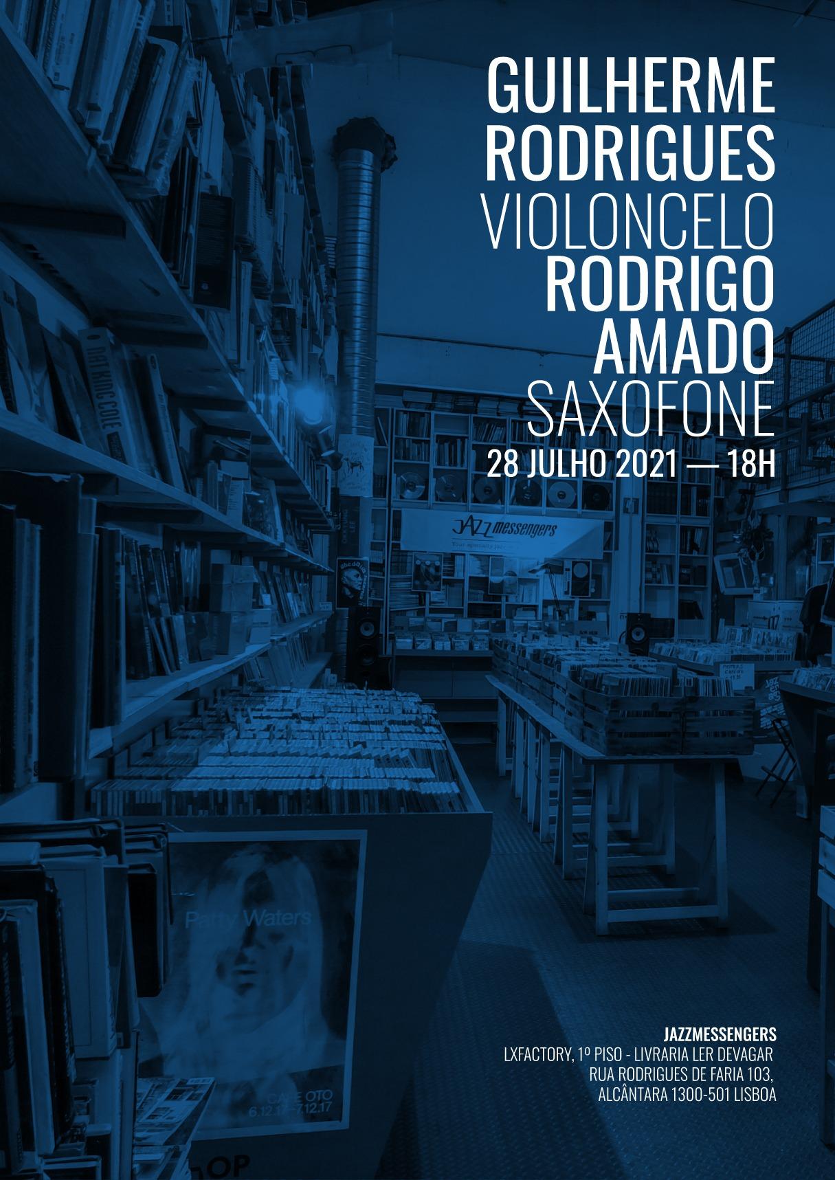 Concerto: Guilherme Rodrigues e Rodrigo Amado