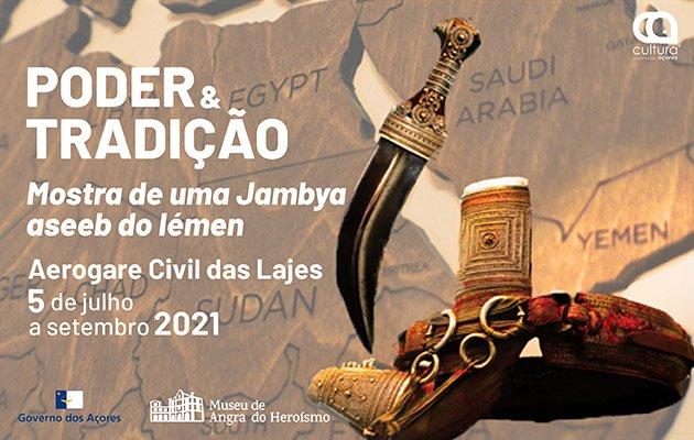Poder & Tradição - Mostra de uma Jambiya aseeb do Iémen