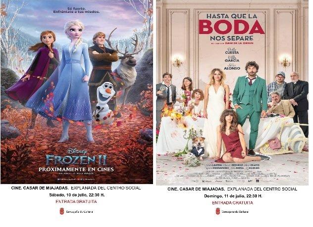 Cine de Verano en Casar de Miajadas