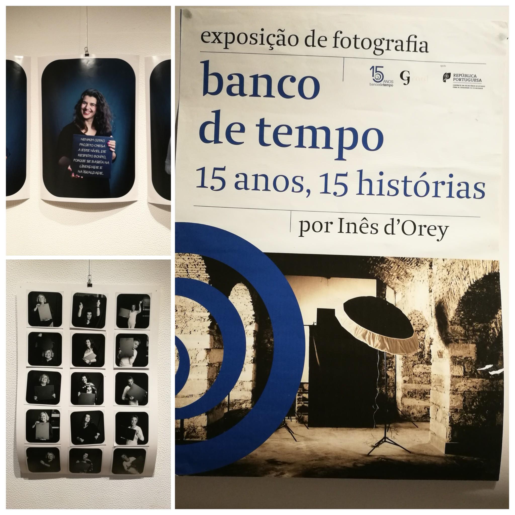Exposição fotográfica 'banco de tempo, 15 anos, 15 histórias'