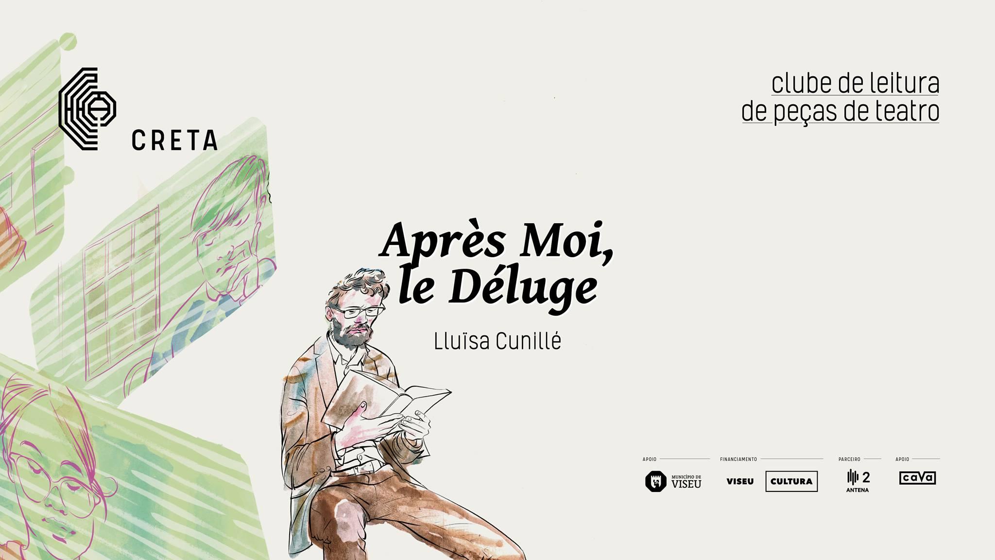 Clube de Leitura de Peças de Teatro: 'Après Moi, le Déluge' de Lluïsa Cunillé