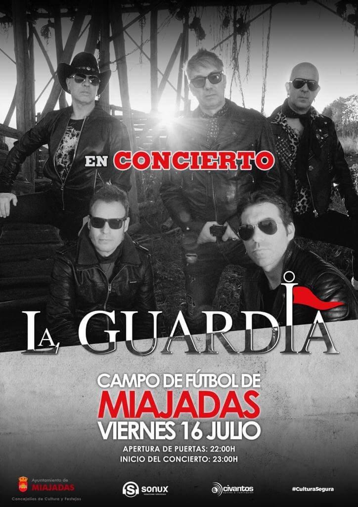 """Reserva de entradas para el concierto de """"La Guardia"""""""