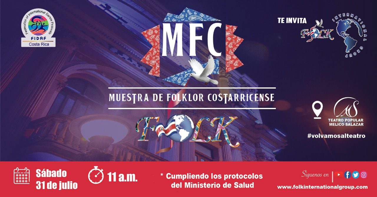 Muestra de Folklore Costarricense