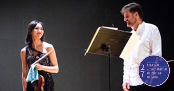 Recital de Violino - Nancy Zhou e Piano - Damián Hernandez