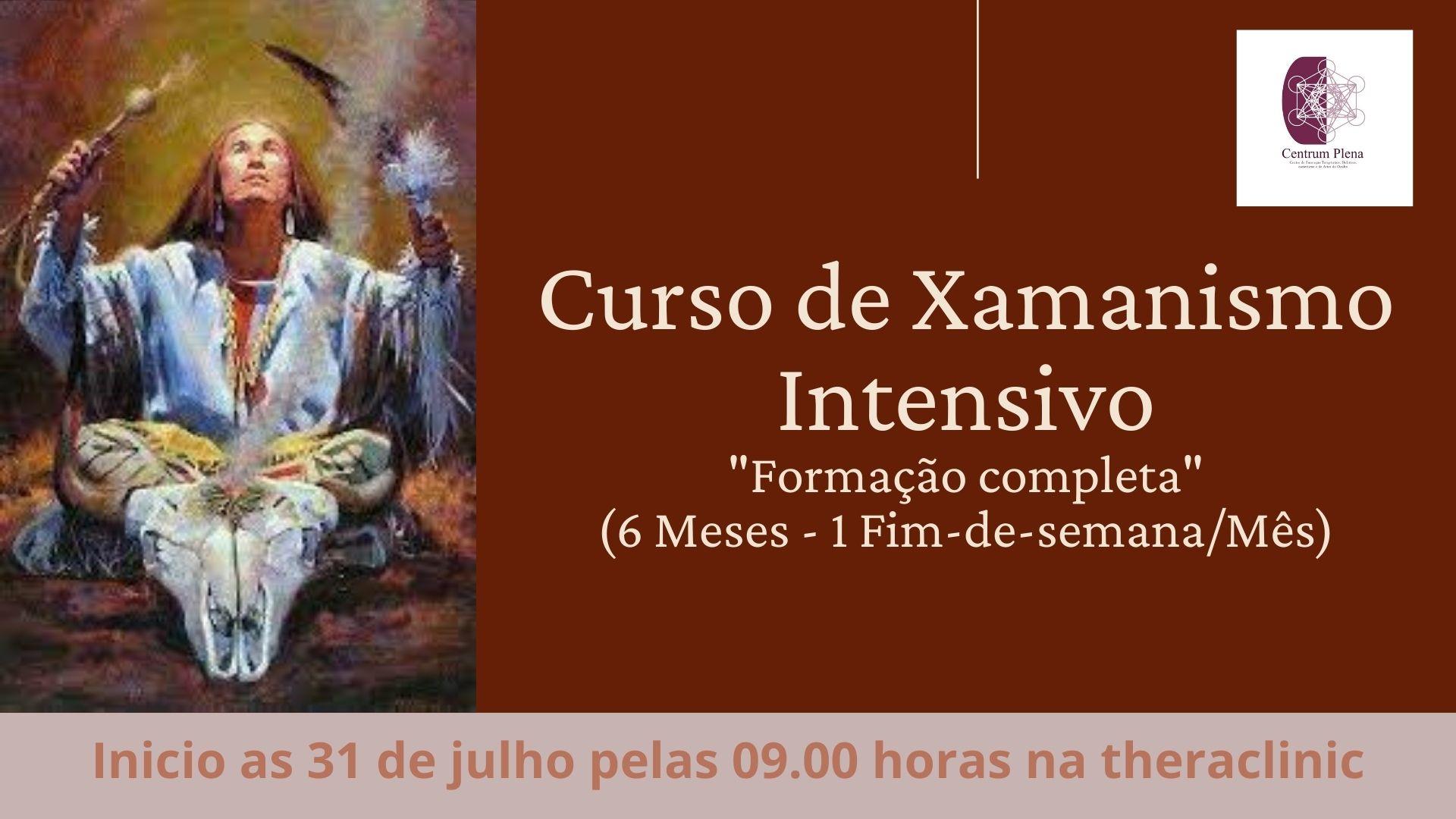 Curso de Xamanismo Intensivo - Início dia 31 de Julho (6 Meses)